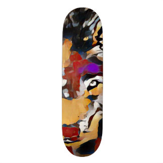 Element Wolf Zero Abstract Custom Pro Park Board Skate Decks