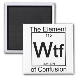 Element WTF Refrigerator Magnets