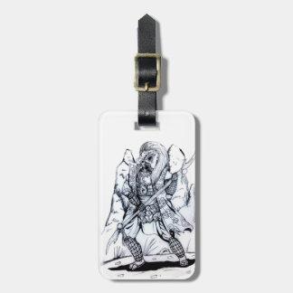 Elemental Air Samurai Luggage Tag