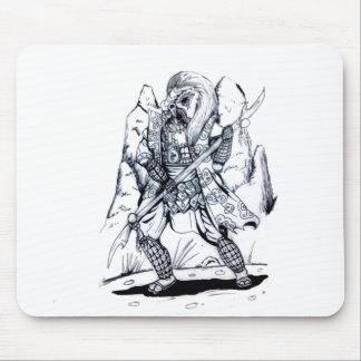 Elemental Air Samurai Mouse Pad