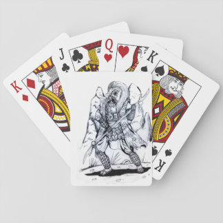 Elemental Air Samurai Playing Cards