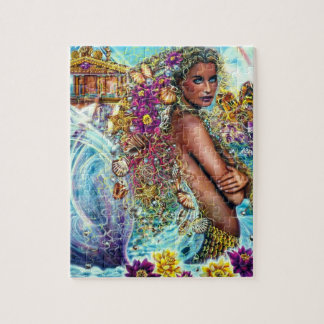 Elemental Collection - Water - Mermaid Jigsaw Puzzle