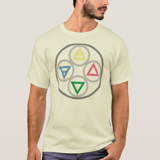 Elemental Cycle of the Four Elements T-Shirt