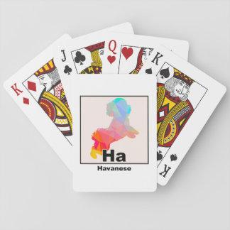 Elemental Havanese Playing Cards