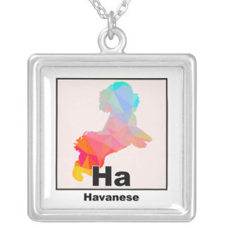 Elemental Havanese Silver Plated Necklace