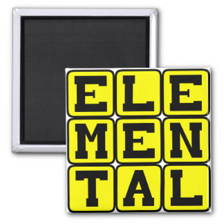 Elemental, Mythic Being Magnet