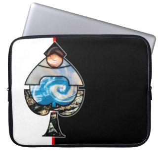 Elemental Spades Laptop Sleeve