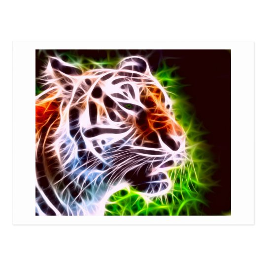 Elemental Tiger Postcard