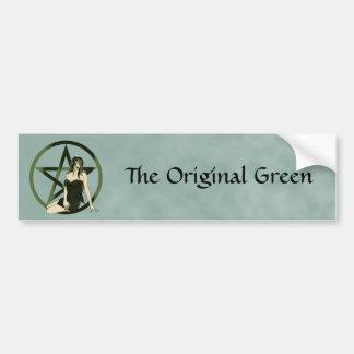 Elemental Witch Pagan Bumper Sticker