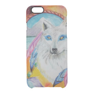Elemental Wolf Clear iPhone 6/6S Case