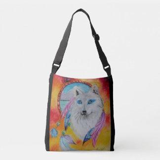Elemental Wolf Crossbody Bag