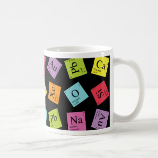 Elementary Periodic (Dark) Coffee Mug