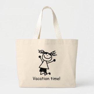 Elementary Primary School vacation jumbo Book Bag