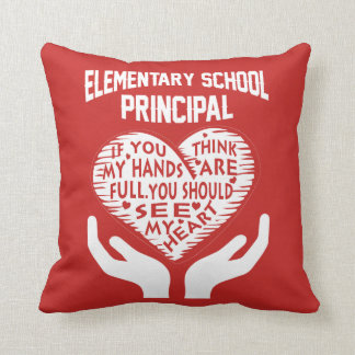 Elementary Principal Throw Pillow