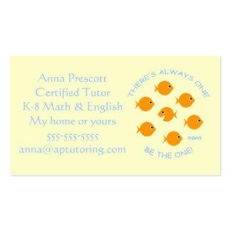 Elementary School Tutor Business Card
