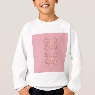 Elements design pink sweatshirt