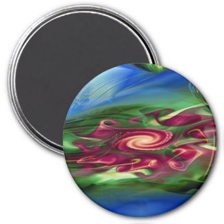 elements in harmony 3 inch round magnet