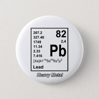 Elements of Heavy Metal Button