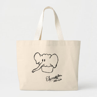 Elemuffin! Large Tote Bag