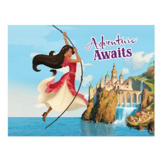 Elena | Adventure Awaits Postcard