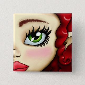 Elena Button-Nose 2 Inch Square Button