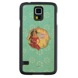 Elena & Isabel | A Hero To Us All Maple Galaxy S5 Case