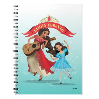 Elena & Isabel | Sister Time Spiral Note Book