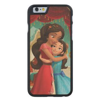 Elena | Little Sister. Big Sister. Carved® Maple iPhone 6 Slim Case