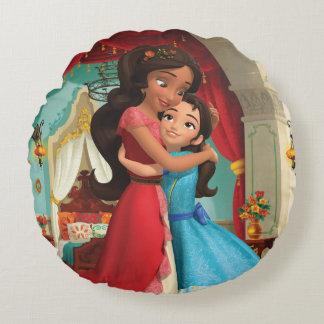 Elena | Little Sister. Big Sister. Round Pillow