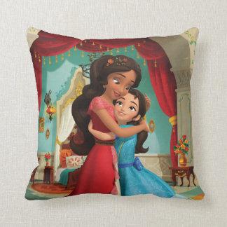 Elena | Little Sister. Big Sister. Throw Pillow