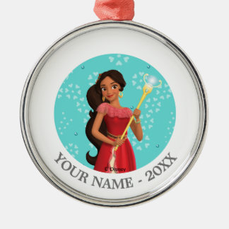 Elena   Magic is Within You Metal Ornament