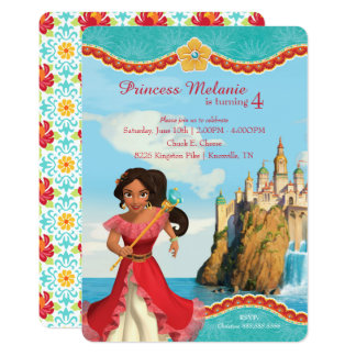 "Elena of Avalor | Birthday 5"" X 7"" Invitation Card"