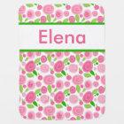 Elena's Personalized Rose Blanket