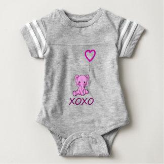 elephant3 baby bodysuit