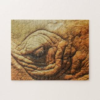 Elephant 02 Digital Art - Photo Puzzle