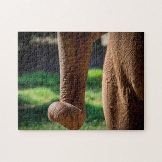 Elephant 06 Digital Art - Photo Puzzle