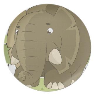 elephant-1598359 plate