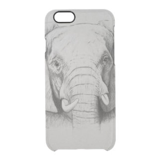 Elephant 2011 clear iPhone 6/6S case