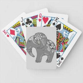 Elephant 4 bicycle playing cards