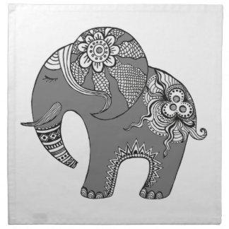 Elephant 4 napkin