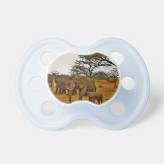Elephant Africa Animal Print Destiny Destiny'S Pacifier