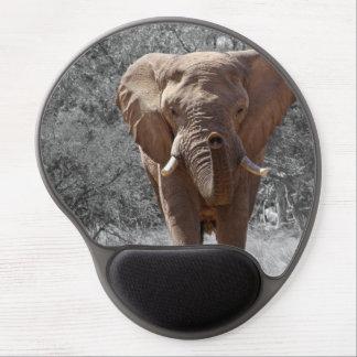 Éléphant africain tapis de souris gel