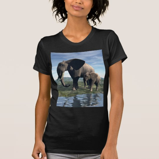 Elephant and Baby T-Shirt