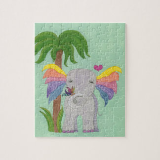Elephant and Butterfly BFF Puzzle