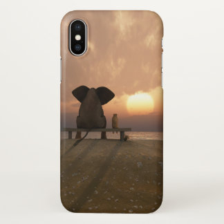 Elephant and Dog Friends Zazzle iPhone X Case