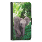 Elephant and Jungle Samsung Galaxy S5 Wallet Case