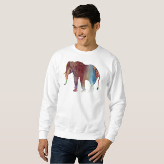 Elephant Art Sweatshirt
