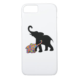 Elephant Autism Awareness Support iPhone 8/7 Case