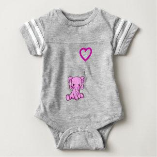 elephant baby bodysuit