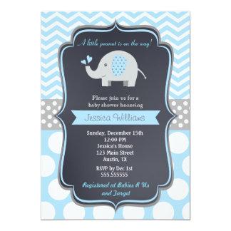 Elephant Baby Shower Invitations